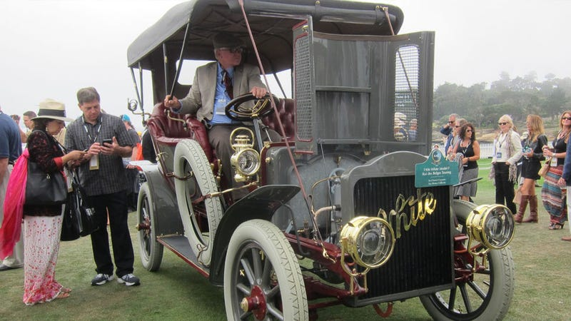 You Have To Listen To This Incredible 1906 White Steamer