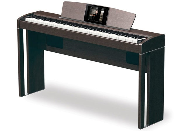 This Piano Doubles As One Sharp iPad Dock