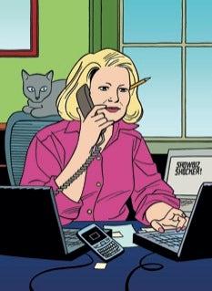 "Nikki Finke Hits The New Yorker: ""I Bitchslapped David Remnick"""