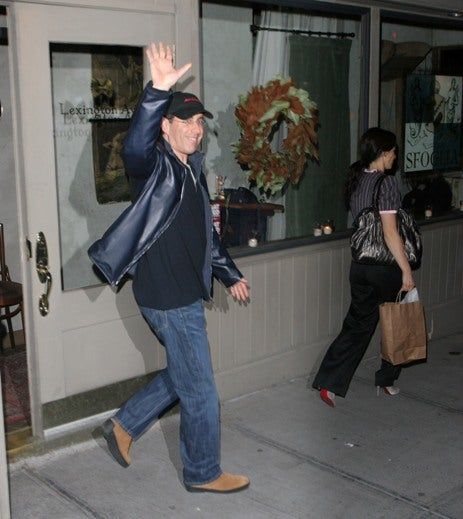 Seinfeld Follows Wife To Ministry Of Silly Walks
