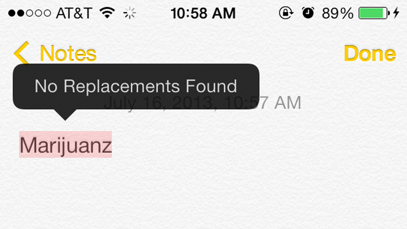 The Controversial Words Your iPhone Won't Autocorrect
