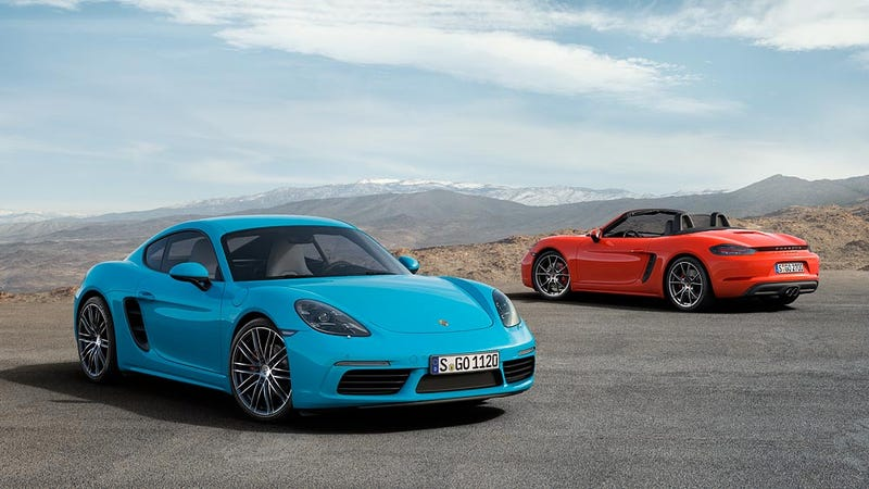 New Cayman cheaper than Boxster