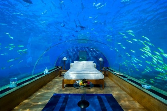The Perfect Loft Is Under the Sea