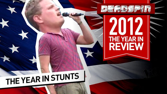 The Year In Deadspin Stunts: All The Dumb Crap We Pulled In 2012