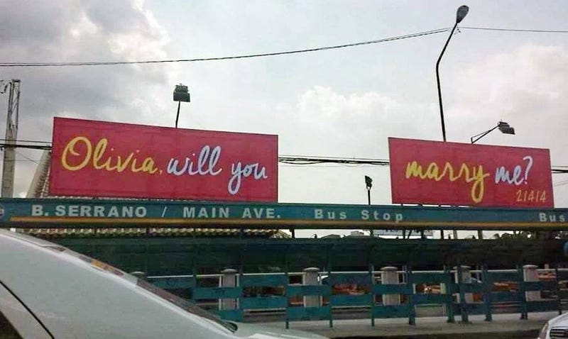 Valentine's Day in Manila