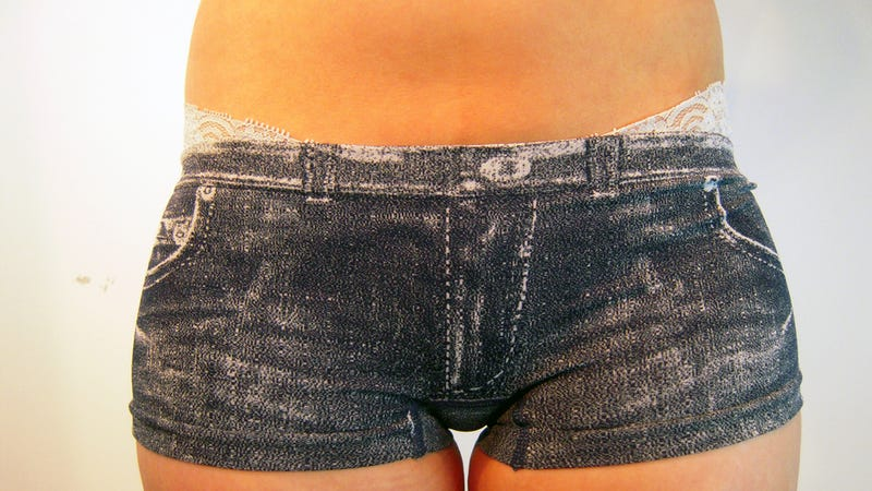 This Is What Happens When Jeans, Leggings, & Underpants Mix