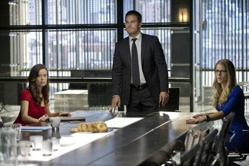 The Arrow crew moves on. And leaves someone behind.