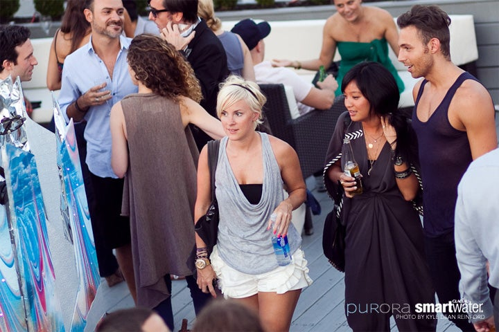 A Twinkling Time Was Had By All at the Gawker Artists Purora Party