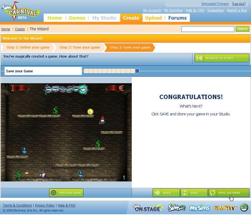 SimsCarnival.com Enters Open Beta