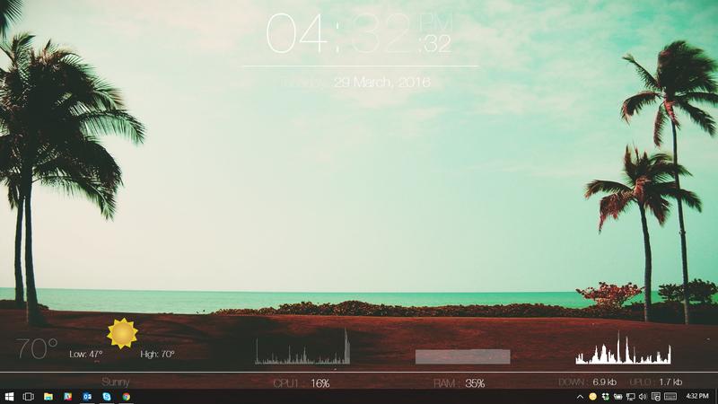 The Tropical Desktop