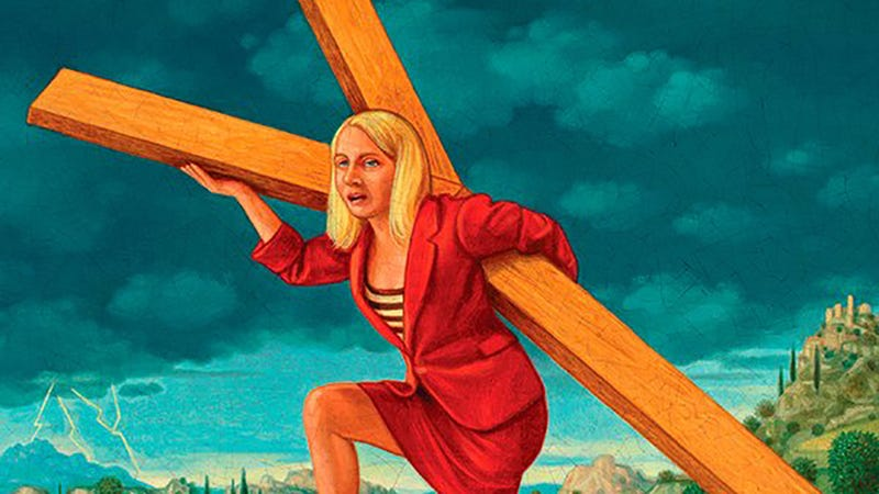Good God, What Was Variety Thinking With This Marissa Mayer-as-Jesus Cover?