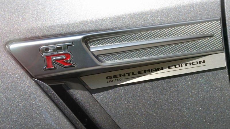 $127,000 Nissan GT-R Gentleman Edition Is For Classy Gentlemen Only