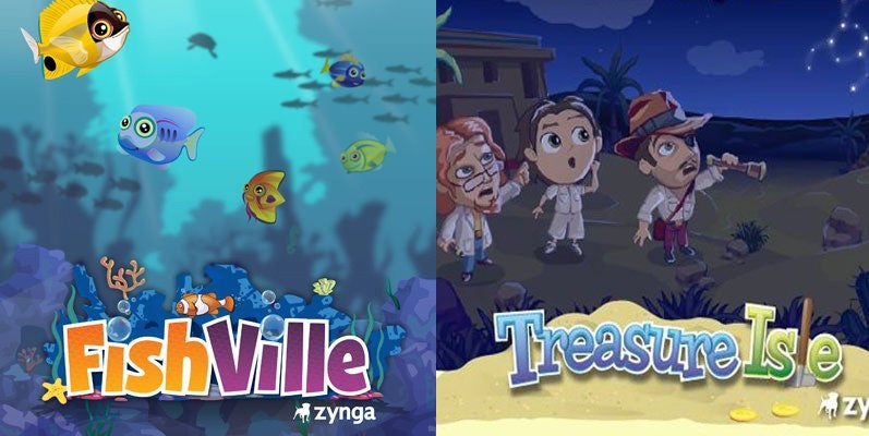 Treasure Isle and FishVille Are the First Zynga Games to Die