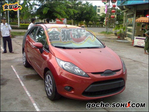 Ford Fiesta Sedan Caught Red-Handed Testing In China