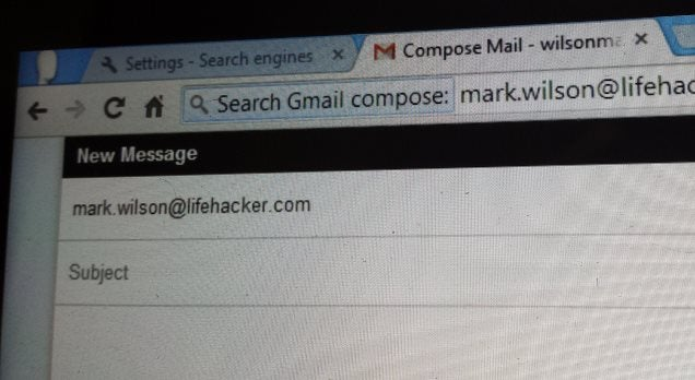Compose Emails and Search Your Gmail Inbox From Chrome's Address Bar