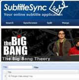 SubtitleSync Indexes, Synchronizes, and Merges Subtitles