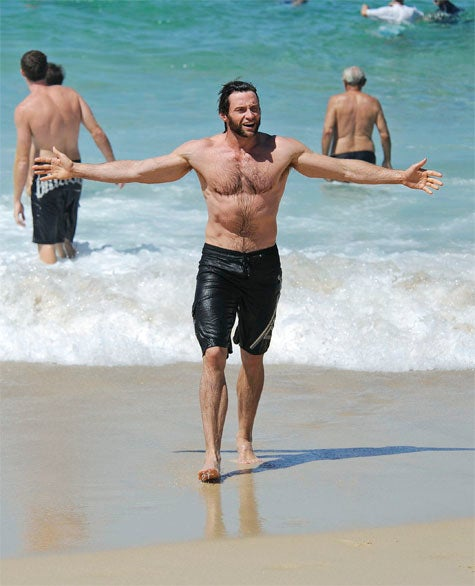 Hugh Jackman: Cute, But Not Quite King Of The World