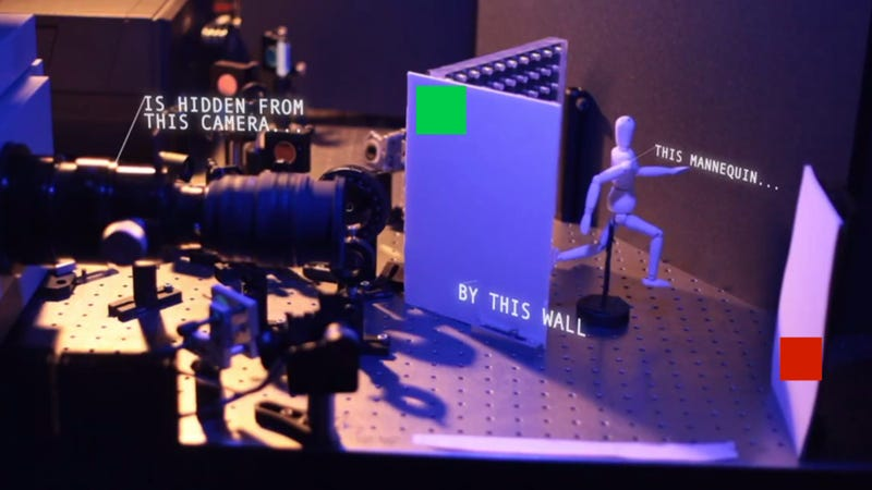 Meet the camera that allows you to see around corners