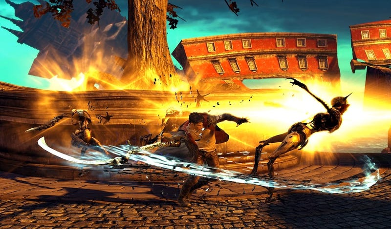 New DmC Screens Highlight New Dante's Topsy-Turvy World