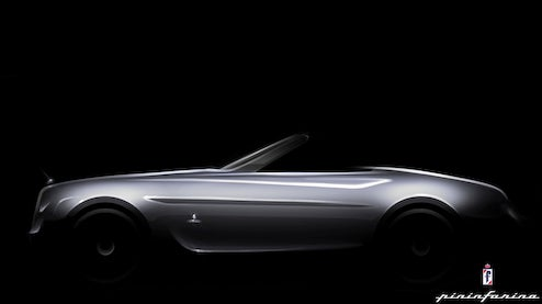 Pininfarina Hyperion, Rolls Royce Drophead Coupe-Based Convertible To Premiere At Pebble Beach Concours