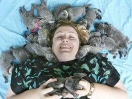 Aussie Dog Births Record Litter • Fecal Transplant? Strangely Unpopular!