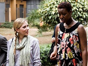 Scarlett Johansson Visits Rwanda To Check Up On Bono's Projects