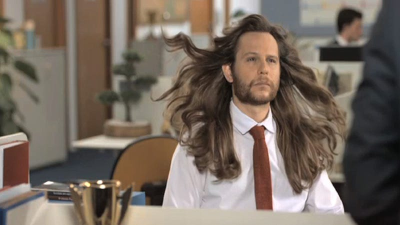 Shampoo Ad Warns Dudes: If Your Hair Is Too Nice, You're Basically a Woman