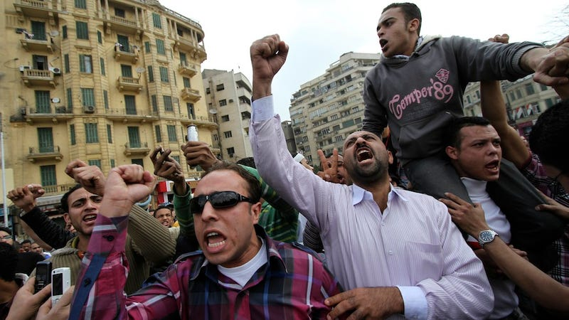 Egyptian Army Kills Two in Attack on Protestors