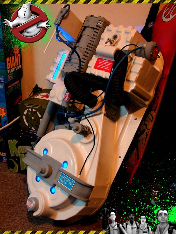 Wiimote Proton Pack Mod Shows Both Dedication and Indifference For Graphical Capability