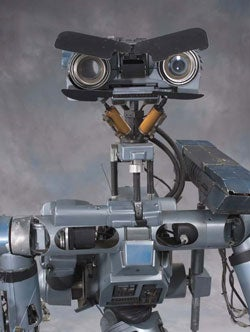 Short Circuit's Johnny Five On Auction Block Starting at $100,000; Steve Guttenberg Sold Separately