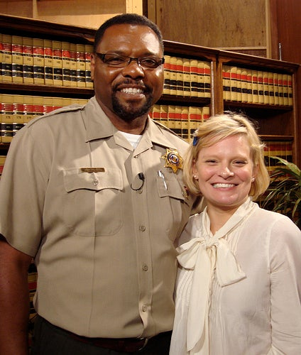 Martha Plimpton Meets Judge Judy