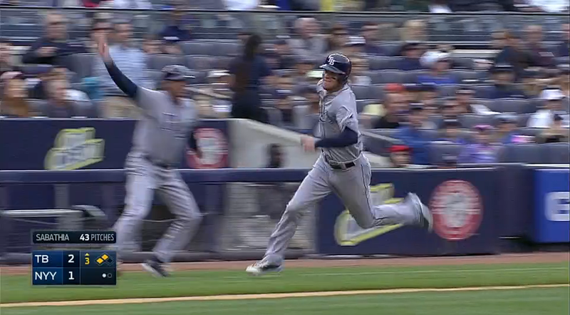 Wil Myers Hit An Inside-The-Park Home Run