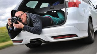 The Most Bonkers Car Photographer