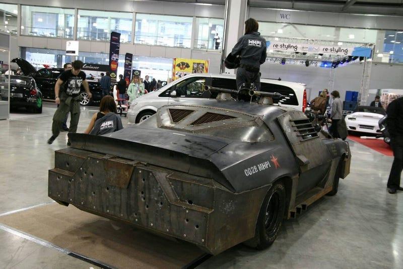 Russian Death Race Camaro: Vodka, Mullets, Bullets Collide