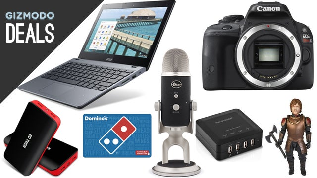 Deals: Acer Chromebook, Blue Microphones, Gift Cards, Tyrion Lannister