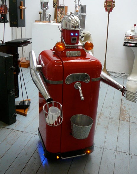 Sorry Dogs, Beer Robots are a Man's New Best Friend