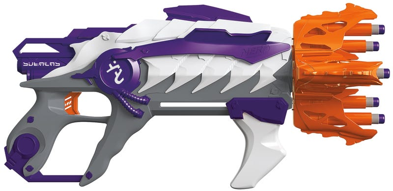 Nerf's New Alien Menace Blasters Look Straight Out of a Halo Game