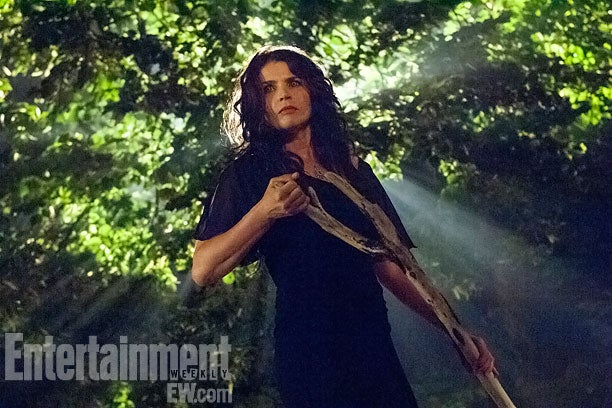 First look at pissed-off, magical Julia Ormond in Witches of East End