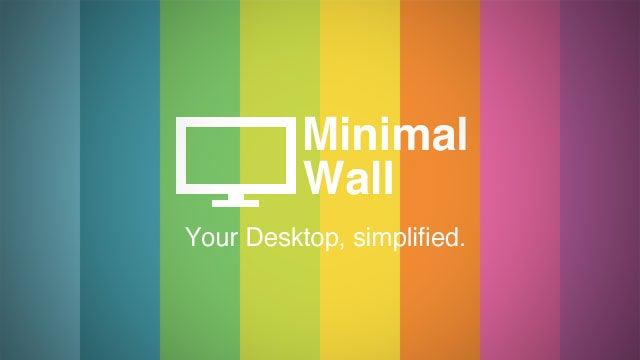 Minimal Wall Is A Collection of Simple (and Often Motivational) Wallpapers