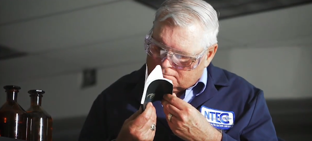 Meet the guy who smells things for a living for NASA