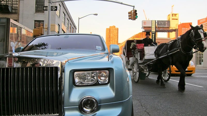Rolls-Royce 102EX: First Drive