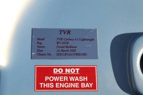 Beckham's TVR