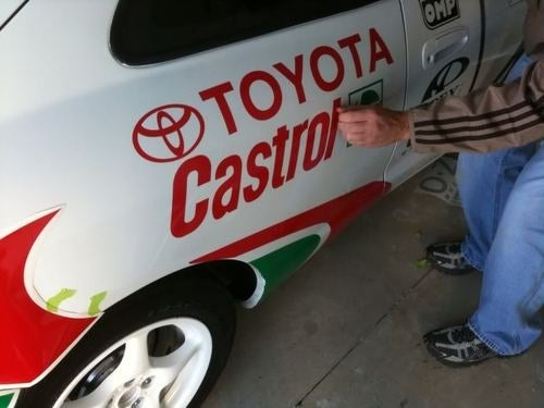Gallery: Sega Rally Toyota Celica Backyard Build: After