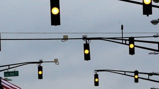 Attention Drivers: You Don't Stop On a Flashing Yellow Light