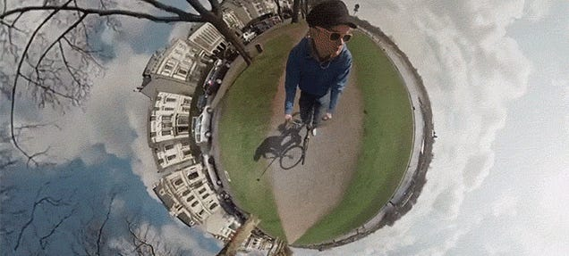 This Bike Ride Filmed As a 360º Panorama Is Amazing