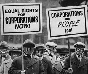 Thought: If Corporations Are People, Let's Treat Them Like People