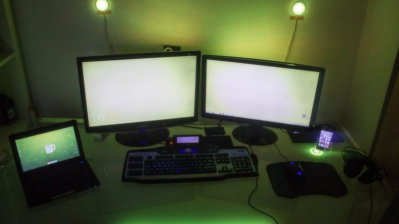 The Glowing Green Workspace