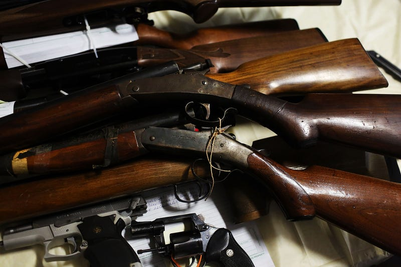 LAPD Gun Buyback Nets 1,962 Guns (Oh, and TWO ROCKET LAUNCHERS)