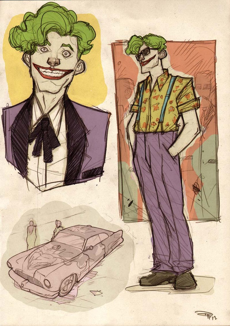 Meet the entire cast of 1950s greaser Batman's Gotham City