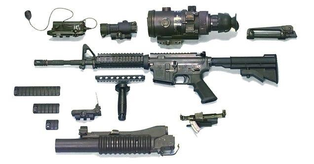 Prueban un rifle de pulsos eléctricos ideado para neutralizar máquinas